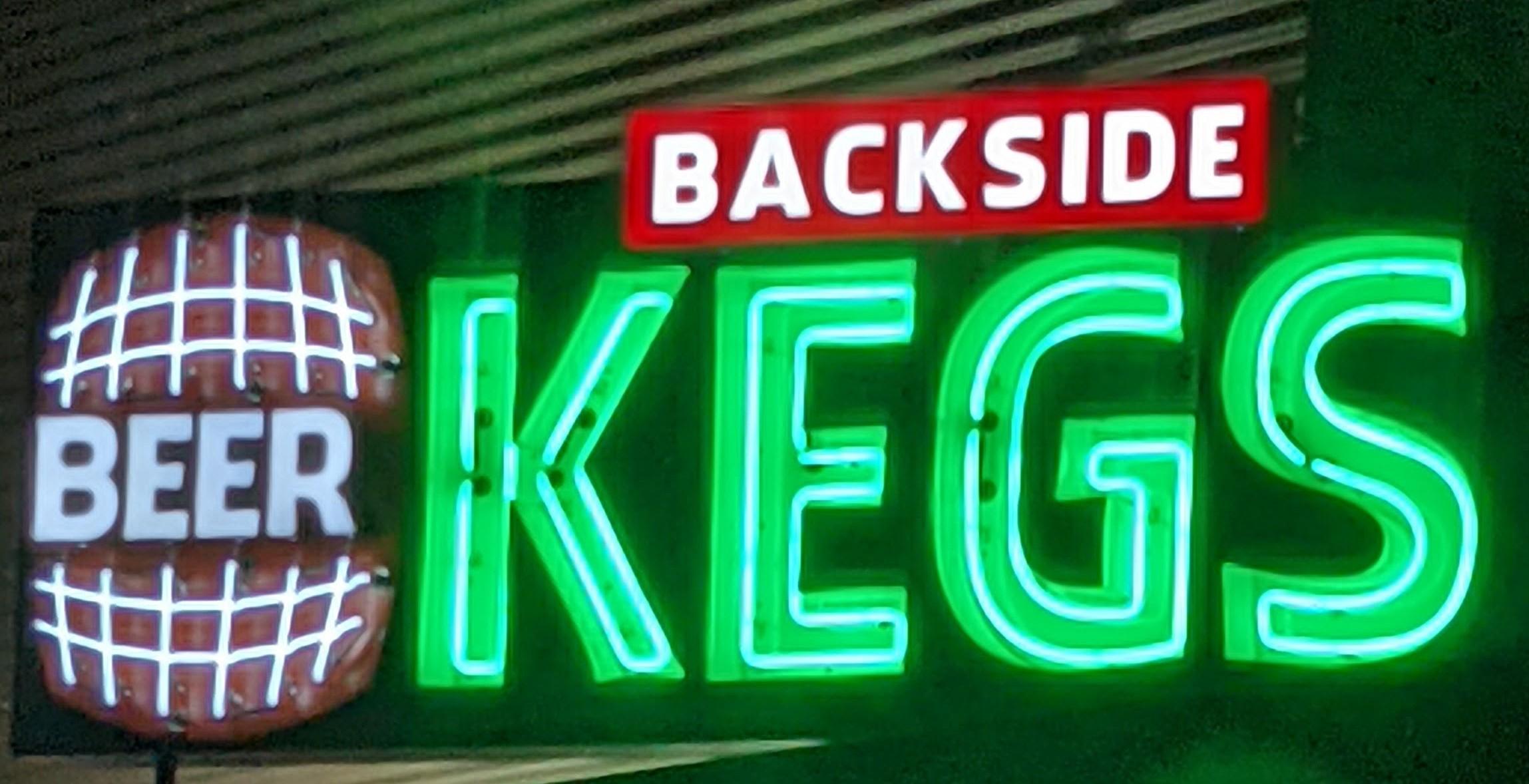 Backside Kegs